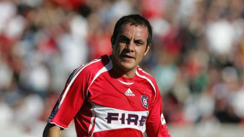Para muchos el mejor 10 mexicano, el tres veces mundialista Cuauht&eacut...