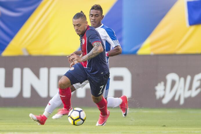 David Ramírez (Costa Rica): un gol.