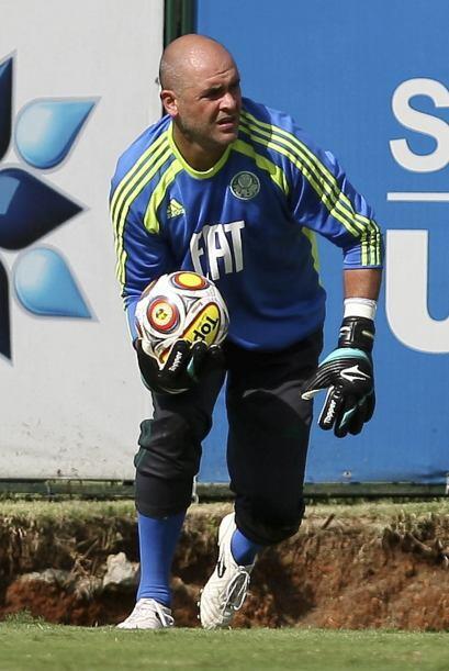 El arquero del Palmeiras, el ´peladinho´ Marcos se pone las pilas para e...