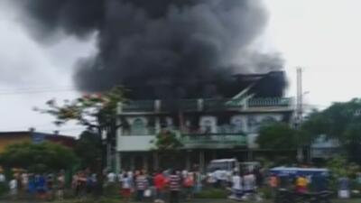 Cuatro personas de una misma familia muertas deja un incendio por la violencia en Nicaragua