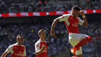 Arsenal ganó a Chelsea la Community Shield