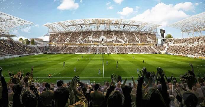 Los Angeles FC presentó nuevas imágenes del estadio que inaugurará en la...