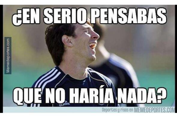 Los 'Memes' del 'Genio Messi' y mucho más