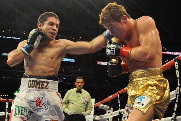 Saúl Alvarez vs. Alfonso Gómez