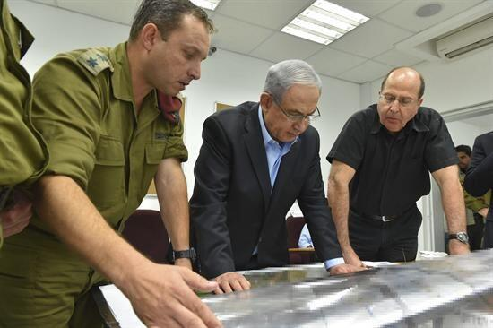 El primer ministro israelí, Benjamin Netanyahu, acusó al g...