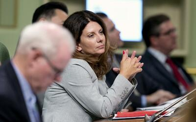 La legisladora Melissa Melendez es la autora de un proyecto de ley que b...