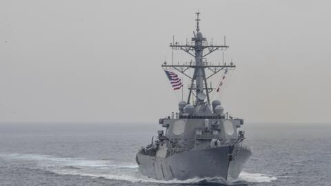 La colisión entre el destructor portamisiles USS Fitzgerald y el...