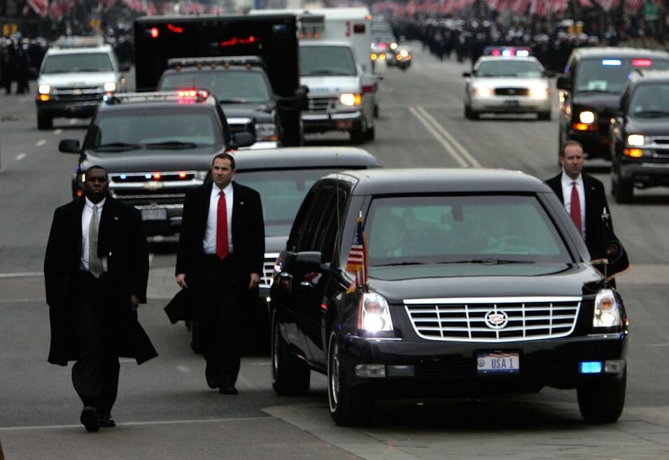 Donald Trump no estrena limusina en su inauguración GettyImages-52039487...