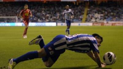 El Deportivo se hunde en el fondo de la clasificación.
