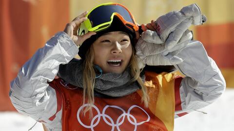 Chole Kim está en sus primeros Juegos Olímpicos.