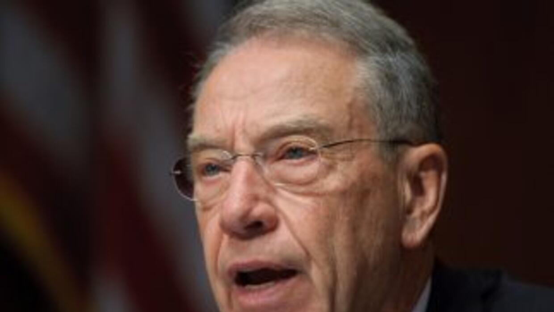 El senador republicano Chuck Grassley.
