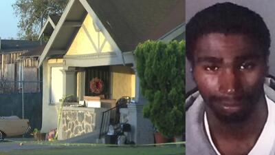 El LAPD arrestó a Lataz Gray en conexión al apuñalamiento de una mujer y...