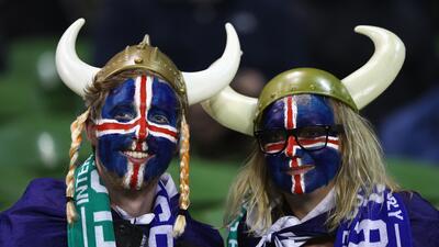 La lealtad, pasión y entrega de los hinchas de Islandia