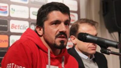Gattuso fichó como futbolista por el conjunto suizo, pero desde el pasad...