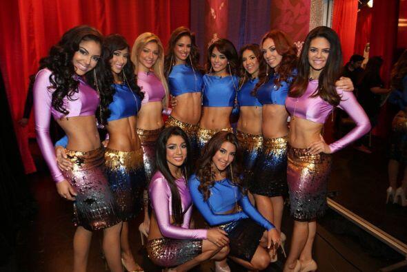 En esta ocasión el vestuario fue muy sensual, las chicas demostraron que...