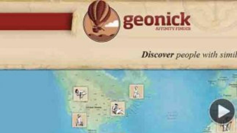 La red socialGeonick, de España, llegó a Chile.