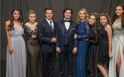 Los seis hijos del presidente Enrique Peña Nieto.