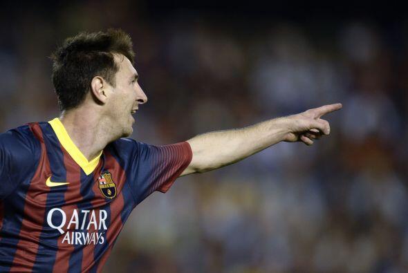 El delantero ponía el 2-0 para el Barcelona, lo que daba la impresión de...
