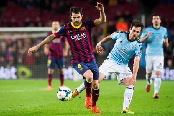 En el segundo tiempo la posesión era del Barcelona, pero los gole...