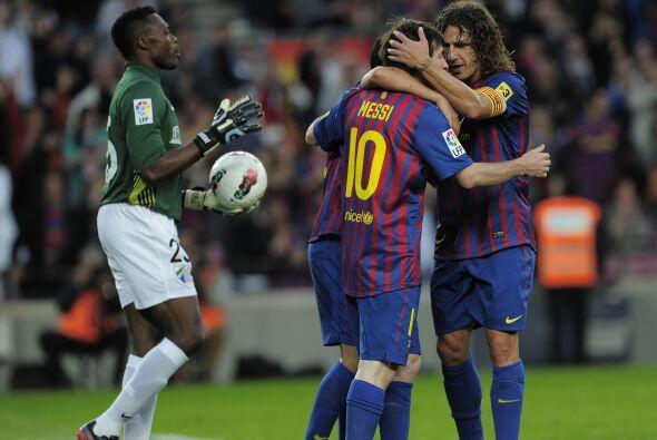 'La Pulga' sigue siendo el máximo goleador de La Liga. y del Barcelona.