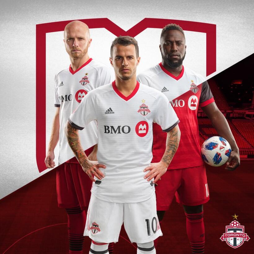 Toronto FC uniforme alternativo 2018