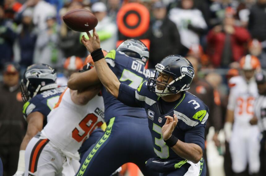 Los Seattle Seahawks vencieron 30 - 13 a los Cleveland Browns para avanz...