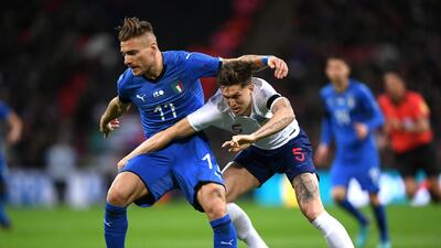 En fotos: Inglaterra e Italia empataron en Wembley por 1-1