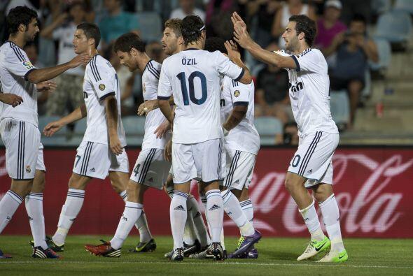 El 'Pipita' marcaba el 1-0 y parecía perfilar un triunfo madridista.
