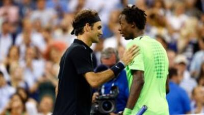 Federer a semifinales del US Open.