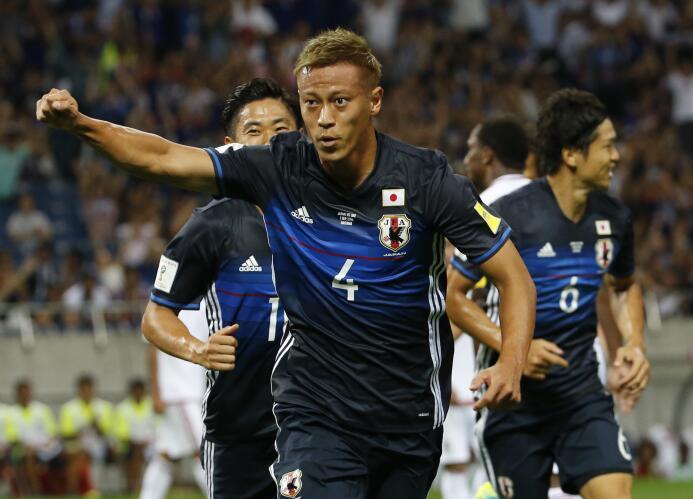 Keisuke Honda (Japón) se convirtió en nuevo jugador del Club Pachuca en...