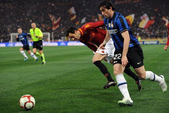 Diego Milito empató temporalmente el partido y se esperaba una reacción.