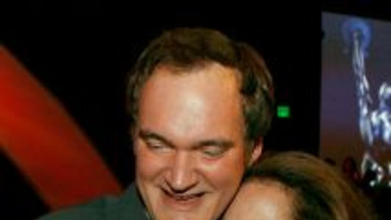 Sally Menke y Quentin Tarantino