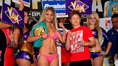 La 'Barby' Juárez y la japonesa Fujioka listas (Foto: Promociones del Pu...