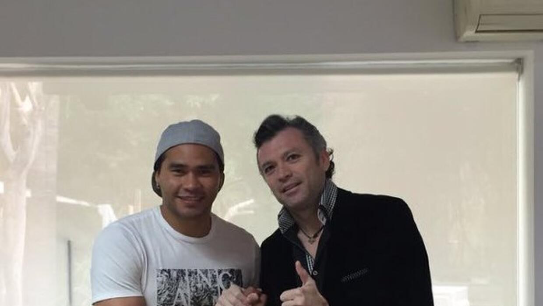 Carlos 'Gullit' Peña y José Luis Higuera
