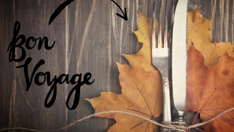 Mesa de Thanksgiving