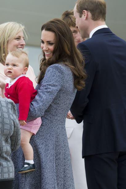 Al parecer no sólo el público quedó cautivado por George, pues el bebé n...