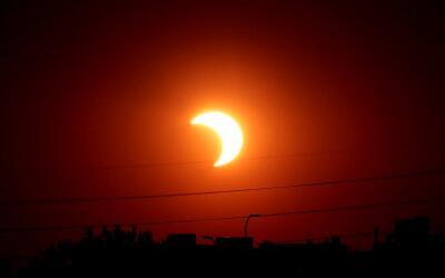 El eclipse solar del próximo 21 de agosto se verá de maner...