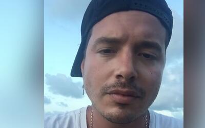 El conmovedor mensaje de J Balvin tras el accidente de su avión