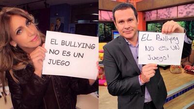 Famosos se suman a #ElBullyingNoEsUnJuego