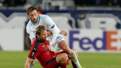 En fotos: Girondins de Bordeaux y Zenit St. Petersburg dividen puntos en la Europa League