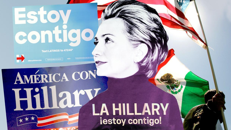 ¿Ayudaron a Donald Trump los mensajes en español de Hillary Clinton?