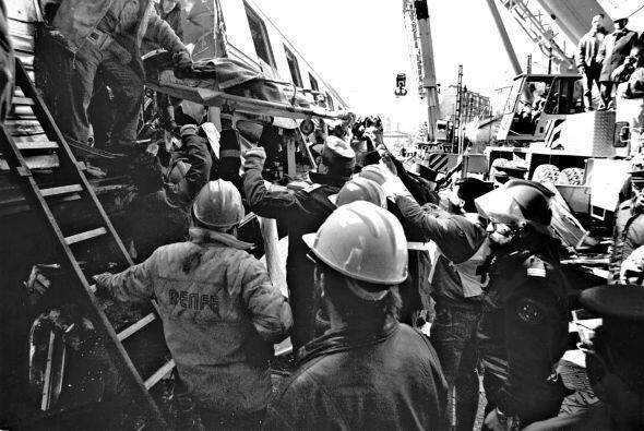 En 1944 sucedió el percance más grave, cuando un tren que hacía el recor...