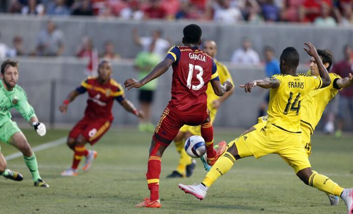 Olmes García anota gol para Real Salt Lake