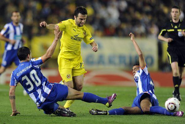El Villarreal tuvo una recompensa a su esfuerzo con otro gol, de Joan Ca...