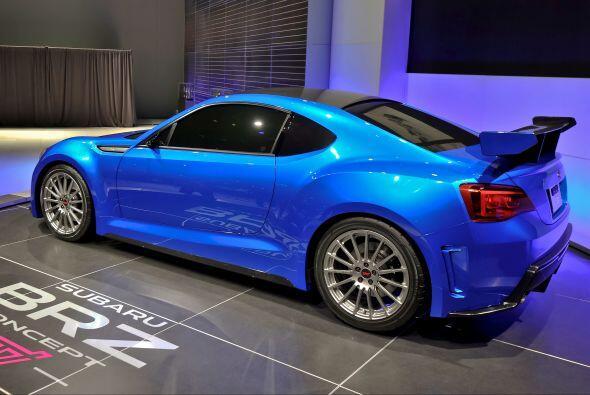 Subaru BRZ:Fue uno de los estrenos que más llamó la atención en el Autos...