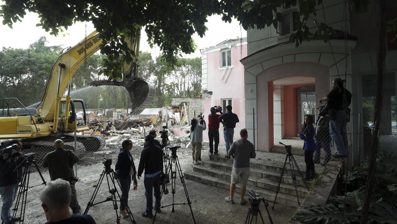 La antigua mansión de Pablo Escobar en Miami Beach.