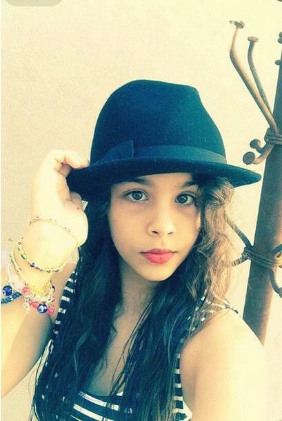 Y es una adolescente muy hermosa.
