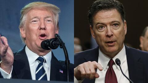 Equipo legal del presidente Trump planea una queja contra James Comey po...