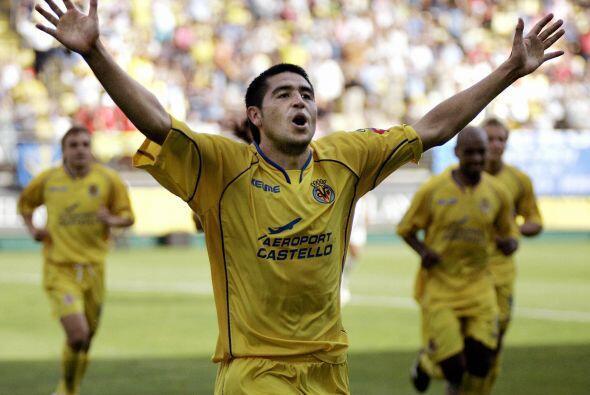 Riquelme tendría su revancha en España con el Villarreal, el ''Torero''...