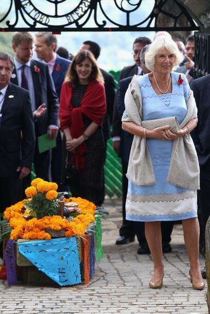 Después la pareja real fue hacia el panteón inglés.